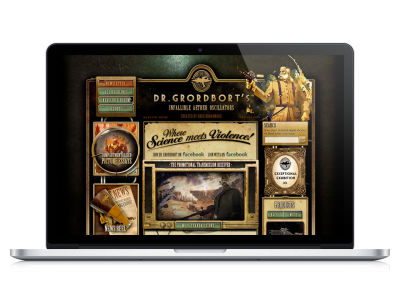 Dr. Grordbort's Website